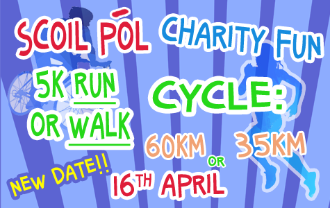 Scoil Pól Charity Fun Run/Walk or Cycle