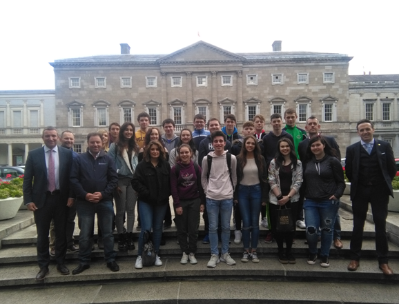 6th YR History Students Visit The Dáil and the GPO
