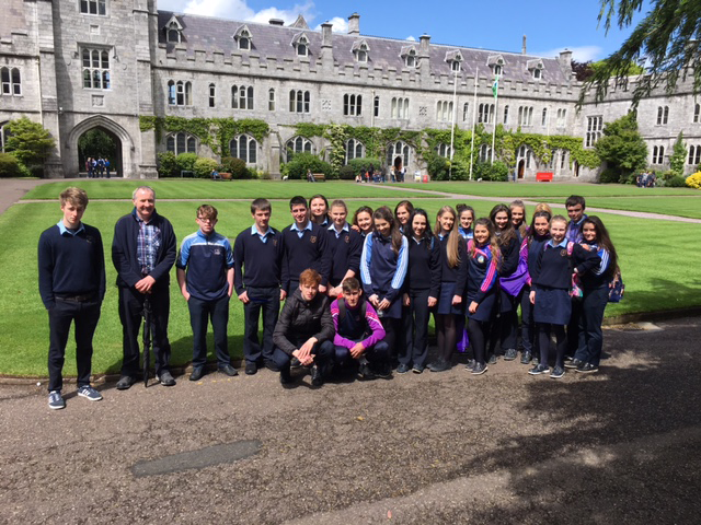 Fifth years visit UCC for Open Day