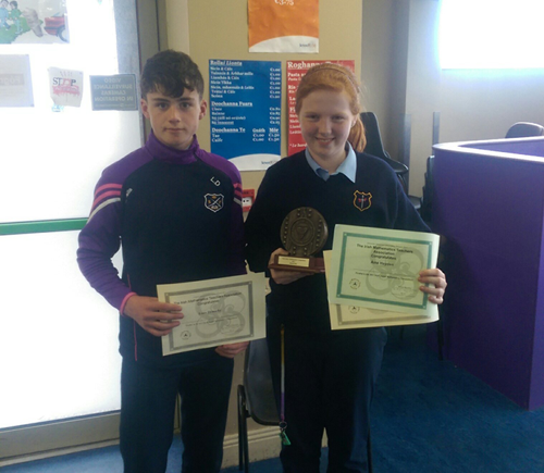 Irish Junior Math Competition