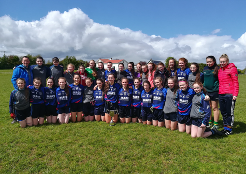 Munster Ladies Junior Football Champions