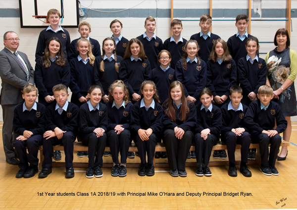 First Years 1A 2018 19