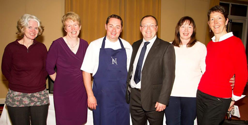 Scoil Pól welcomes Neven MaGuire