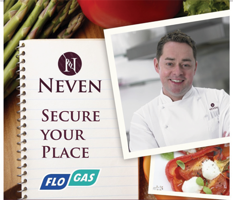 Neven McGuire Cooking Demo