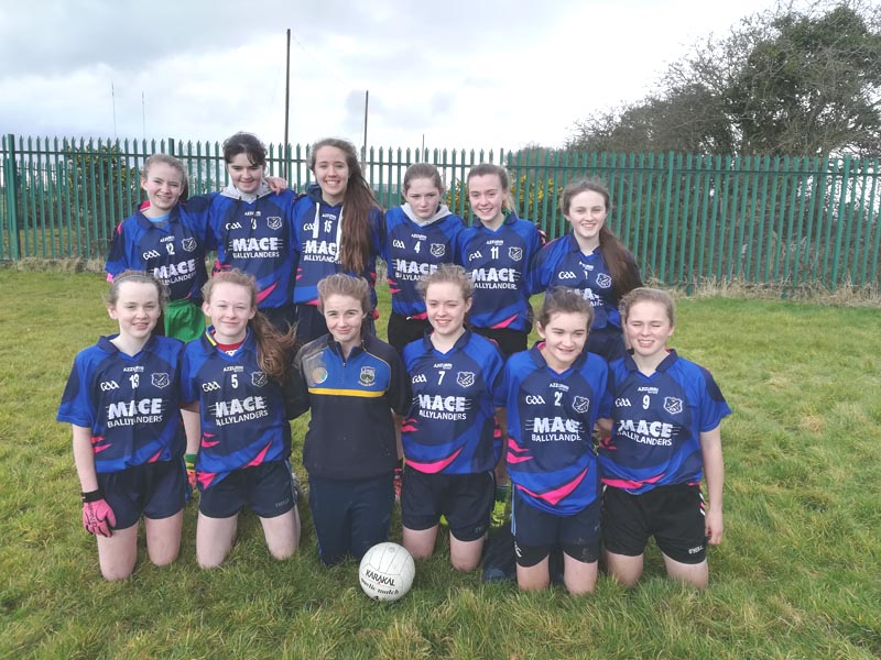 Ladies Football Mar 2018