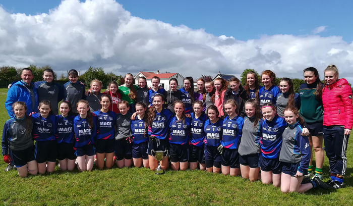 Ladies County B Football Champions 2018