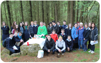 Third Years travel to Mass Rock
